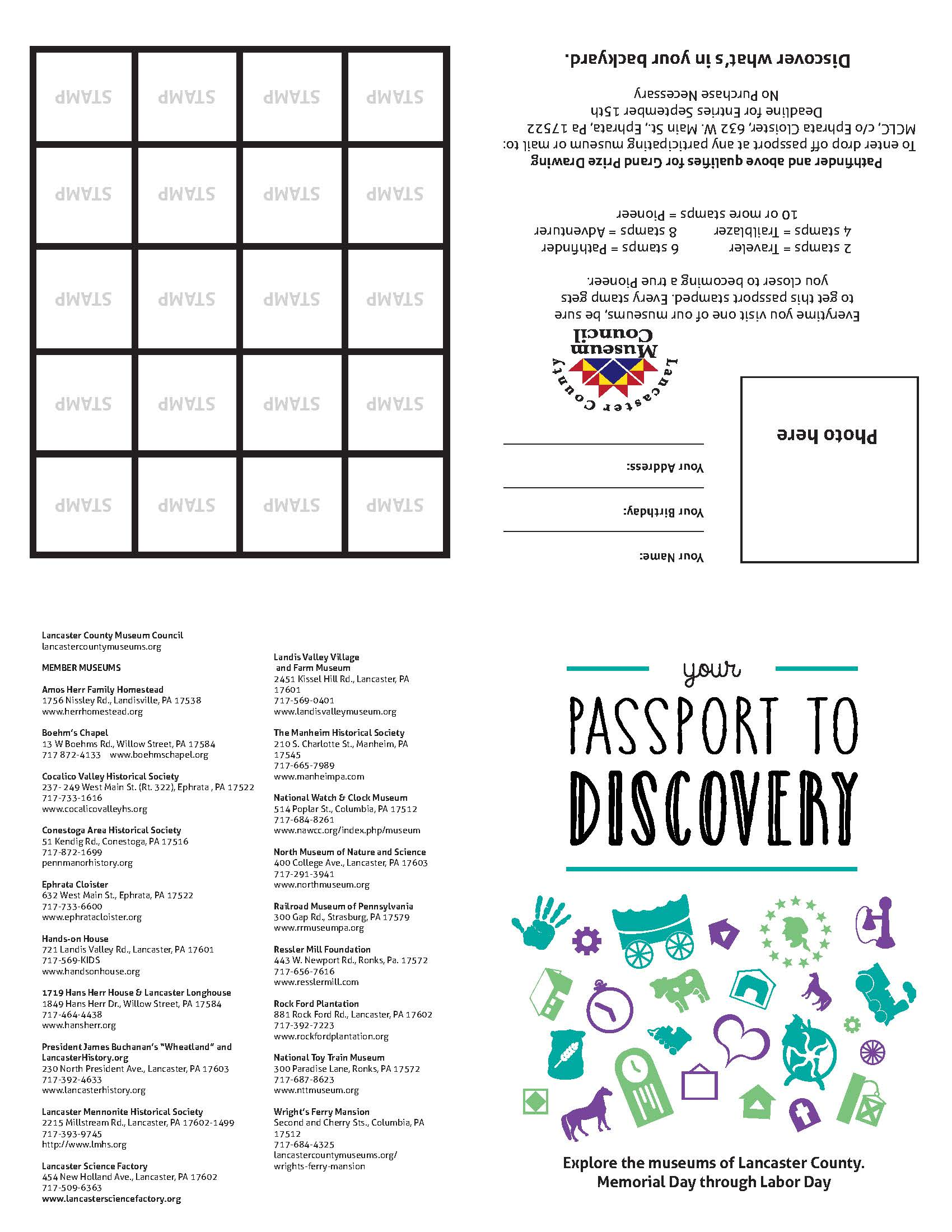 Click Here To Download Your Passport To Discovery