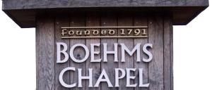 Founded 1791 Boehms Chapel Marker