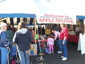 Apple Festival Oct 10