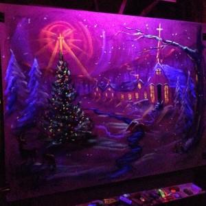 Christmas chalk talk