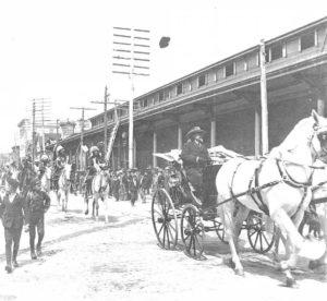 Buffalo Bill Parading through Lancaster