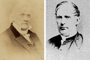 James (left) & Edward Buchanan (right) c. 1860s